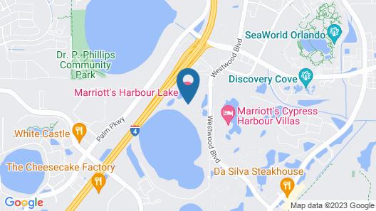 Marriott's Harbour Lake Map