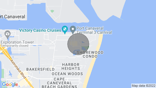 Free Water Park - Beach Resort, Clean, Family Friendly Map