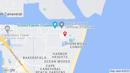 Holiday Inn Club Vacations Cape Canaveral Beach Resort, an IHG Hotel Map