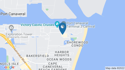 Holiday Inn Club Vacations Cape Canaveral Beach Resort Map