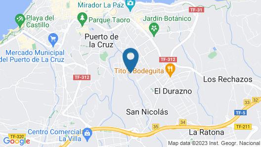 Blue Sea Costa Jardin & Spa Map