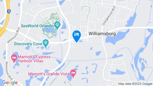 Aloft Orlando International Drive Map
