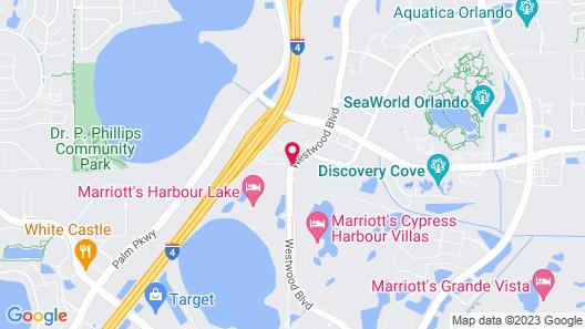 Residence Inn by Marriott Orlando at SeaWorld Map