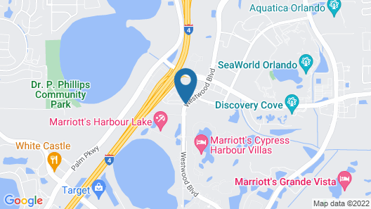 Residence Inn by Marriott Orlando at SeaWorld Map