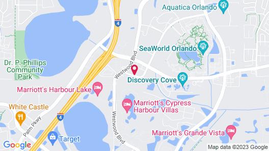 Staybridge Suites Orlando at SeaWorld, an IHG Hotel Map