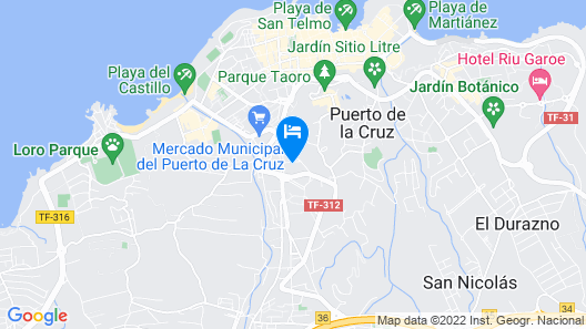Puerto Palace Map