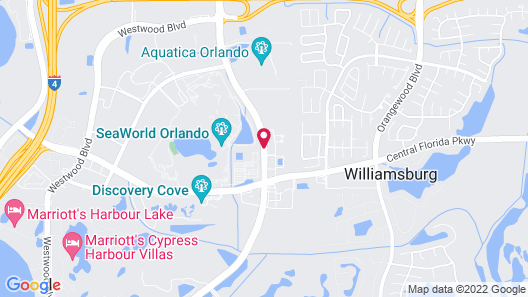 Holiday Inn Express & Suites Orlando at SeaWorld, an IHG Hotel Map