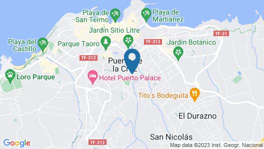 Parque Vacacional Eden Map