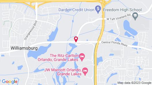 The Ritz-Carlton Orlando, Grande Lakes Map
