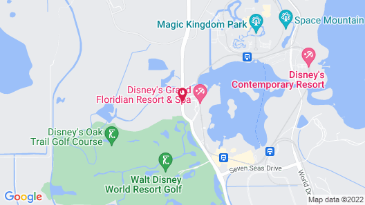 Disney's Grand Floridian Resort & Spa Map