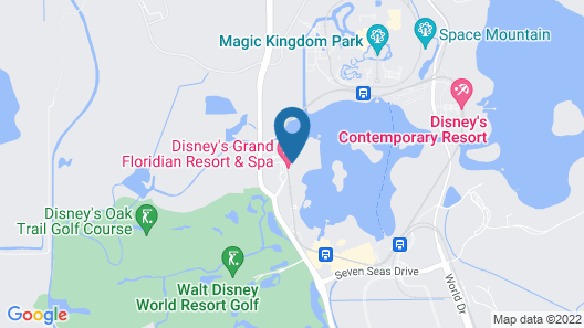 Disneys Grand Floridian Resort Map