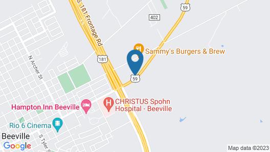 SureStay Plus Hotel by Best Western Beeville Map