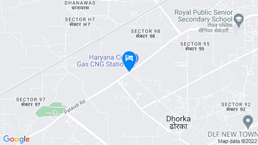 Country Inn & Suites by Radisson, Gurugram Sector 12 Map