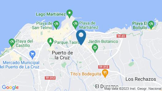 La Carabela Map