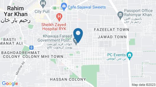 Sawar Hotel Map