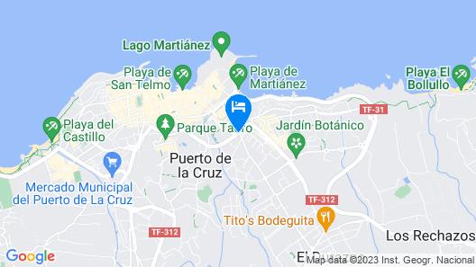Smy Puerto de la Cruz Map