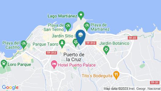 Apartamentos Casablanca Map