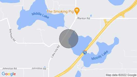 Spectacular Lake Property Map