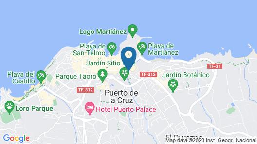 Hotel El Tope Map