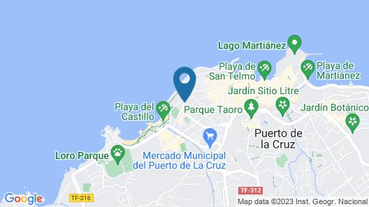 Sol Puerto De La Cruz Tenerife Map