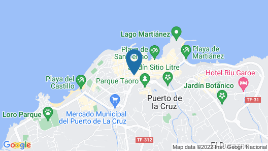 My City Hotel Map