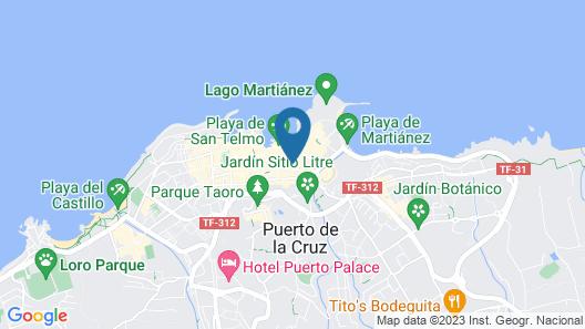 RF Apartamentos Bambi - Adults Only Map