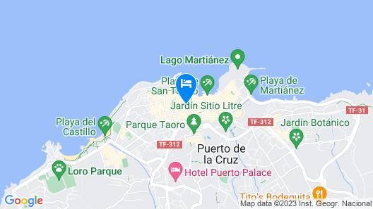 Hotel Maga Map
