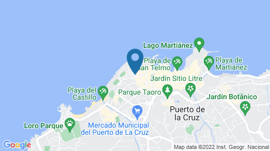 Hotel Sun Holidays Map