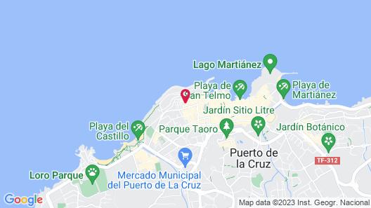 Puerto Azul Map