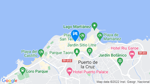 Hotel Monopol Map