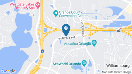 Four Points by Sheraton Orlando Convention Center Map