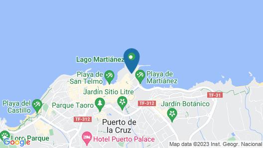 H10 Tenerife Playa Map