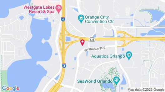 Tru By Hilton Orlando Convention Center Area, FL Map