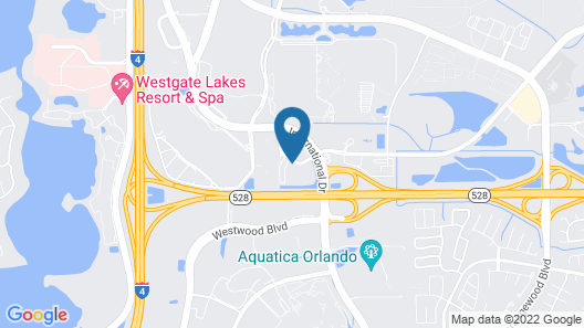 Midpointe Hotel by Rosen Hotels & Resorts Map
