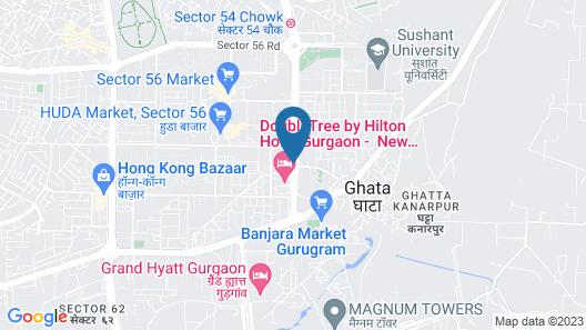 DoubleTree by Hilton Hotel Gurgaon - New Delhi NCR Map