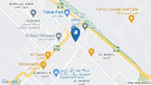 Alsaraya Hotel Suites Map