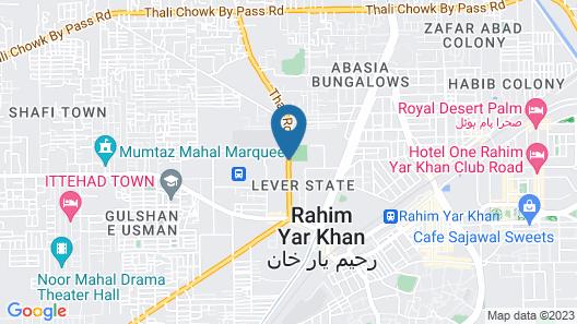 Hotel Faran Map