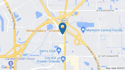La Quinta Inn & Suites by Wyndham Orlando South Map