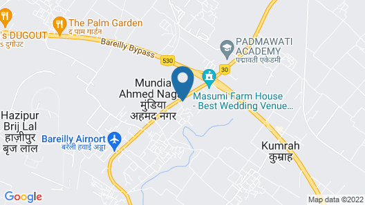 Radisson Hotel Bareilly Airport Map