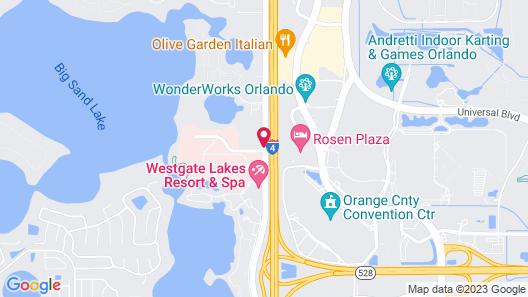 Quality Suites Map