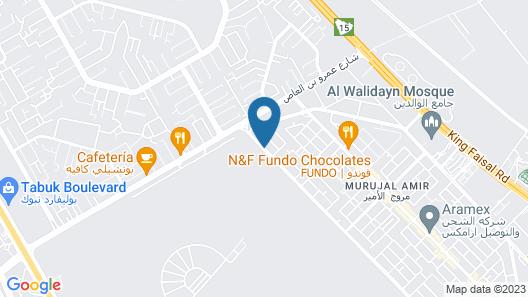 Waqt Alfakhamah Aparthotel Map
