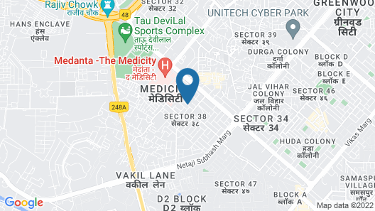 OYO 13115 Star Guest House Map