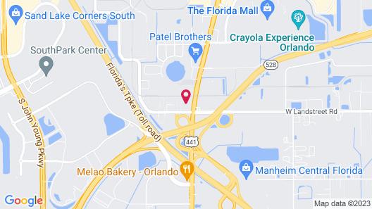 Garnet Inn & Suites Map