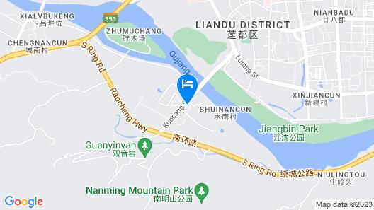 Yongli Business Hotel Map