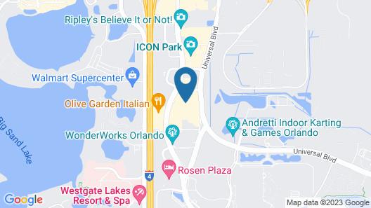 Hyatt Place Orlando / I-Drive / Convention Center Map