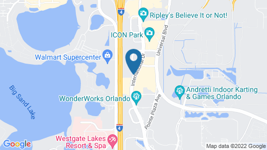 Embassy Suites by Hilton Orlando International Dr Conv Ctr Map