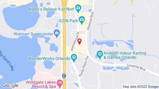 Homewood Suites by Hilton Orlando-Int'l Drive/Convention Ctr Map