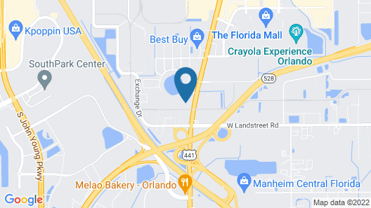 Stayable Suites Orlando Map