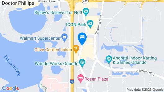 Avanti International Resort Map