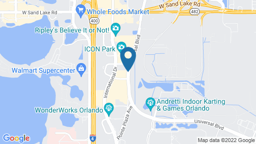 La Quinta Inn & Suites by Wyndham Orlando I Drive/Conv Ctr Map